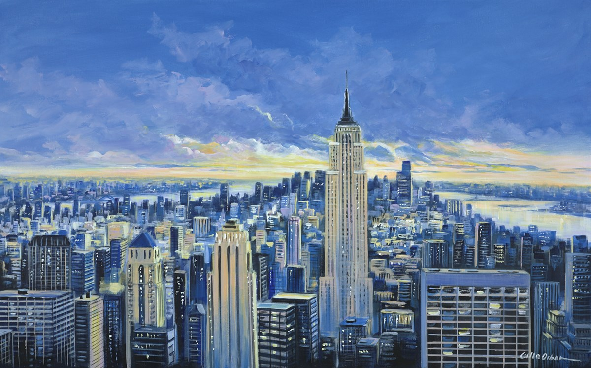 New York View IV by csilla orban -  sized 48x30 inches. Available from Whitewall Galleries